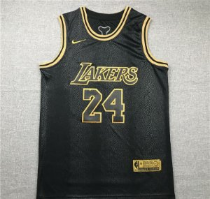 Camisas Black Mamba Golden Edition Los Angeles Lakers - 8 Kobe Bryant, 24 Kobe Bryant