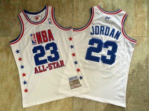 Camisa All Star Game 2003 Authentic Hardwood Classics M&N - 23 Michael Jordan