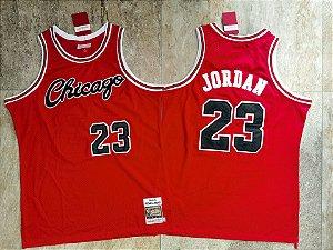 Camisa Chicago Bulls 1984 / 85 Hardwood Classics M&N - 23 Michael Jordan