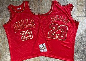 Camisa de Basquete Chicago Bulls Especial M&N - 23 Michael Jordan