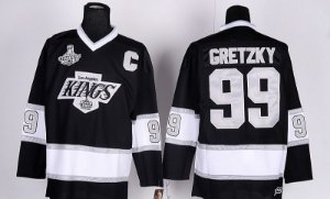 Camisa de Hockey NHL Los Angeles Kings - 99 Gretzky