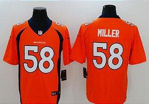 Camisa Denver Broncos - 58 Miller, 7 Elway