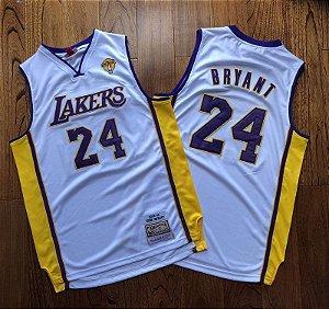 CAMISA DE BASQUETE LOS ANGELES LAKERS HARDWOOD CLASSICS M&N NBA Finals 2009 / 2010 -  KOBE BRYANT