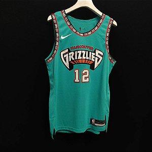 Camisa de Basquete Memphis Grizzilies versão jogador - 12 Morant