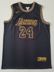 CAMISA DE BASQUETE LOS ANGELES LAKERS ESPECIAL BLACK MAMBA GOLDEN EDITION - 8 KOBE BRYANT, 24 KOBE BRYANT