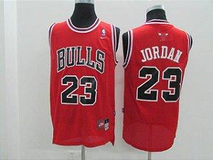 Camisas de Basquete Retrô Chicago Bulls - 23 Jordan