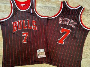 Camisa de Basquete Chicago Bulls Hardwood Classics M&N - 7 Kukoc