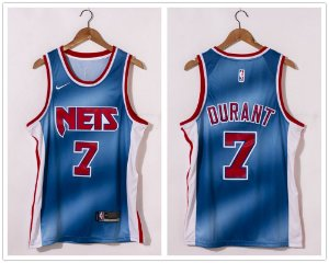 Camisa de Basquete Brooklyn Nets 2021 - 11 Irving, 7 Durant