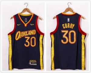 Camisa de Basquete Golden State Warriors 2021 City Edition - 30 Stephen Curry