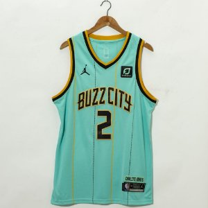 Camisa de Basquete Charlotte Hornets 2021 City Edition - LaMelo Ball 2