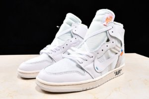 AIR JORDAN 1 RETRO HIGH GS X OFF WHITE WHITE