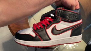 PRONTA ENTREGA! TÊNIS AIR JORDAN 1 RETRO HIGH BLOODLINE