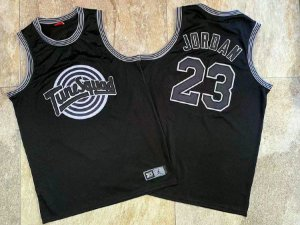 Camisa de Basquete TuneSquad Authentic Black (Space Jam - o Filme) - 23 Michael Jordan
