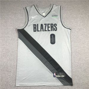 Camisa de Basquete Portland Trailblazers Earned Edition 2021 - 0 Lillard, 00 Anthony