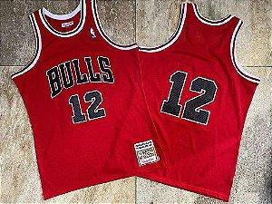 Camisa de Basquete Chicago Bulls Hardwood Classics M&N Fev. 1990 - Michael Jordan 12
