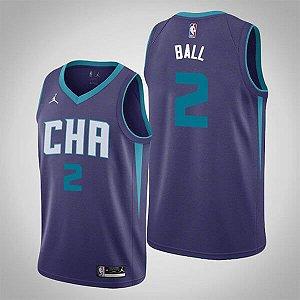 Camisa de Basquete Charlotte Hornets 2021 Statement - LaMelo Ball 2
