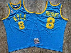 Camisa de Basquete L.A. Lakers MPLS Hardwood Classics M&N - 8 Kobe Bryant