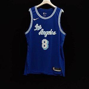 Camisa de Basquete Los Angeles Lakers 2021 Classic versão Jogador - 24 Kobe Bryant