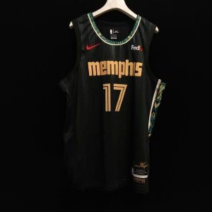 Camisa de Basquete Memphis Grizzilies City Edition 2021 Modelo Jogador - Personalizável