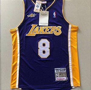 Camisa de Basquete All Star Game 2000 Los Angeles Lakers - 8 Kobe Bryant