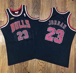 Camisa de Basquete Chicago Bulls NBA Finals 96/97 Hardwood Classics M&N - 23 Michael Jordan