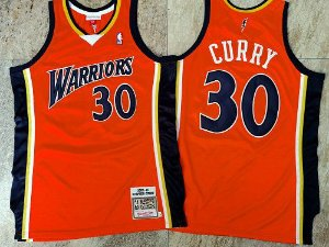Camisa de Basquete Golden State Warriors 2009/10 Hardwood Classics M&N - 30 Stephen Curry