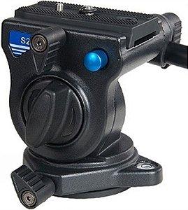 Cabeça Hidráulica para Vídeo Benro S2 suporta até 2,5Kg
