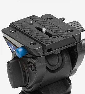 Cabeça Hidráulica para Vídeo Benro S4 suporta até 4Kg
