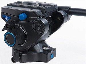 Cabeça Profissional Hidráulica para Vídeo Benro S6 suporta até 6Kg