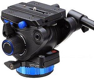 Cabeça Profissional Hidráulica para Vídeo Benro S7 suporta até 7Kg