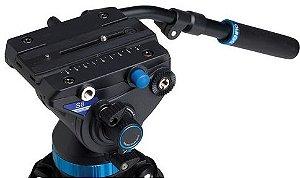 Cabeça Profissional Hidráulica para Vídeo Benro S8 suporta até 8Kg
