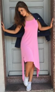 Vestido Bubblegam Pink