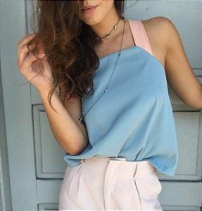 Blusa Azul Baby