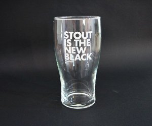 Pint - Stout is the New Black (BeerFlakes 002)