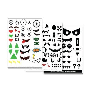 Kit Stickers Brewce (Cartelas)