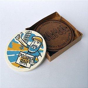Coaster Viajante Cervejeiro - Placa de Estilos - Modelo 1 (kit com 2 unidades)