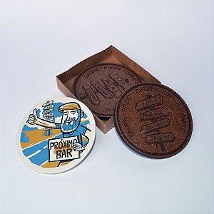 Coaster Viajante Cervejeiro - Placa de Estilos - Modelo 2 (kit com 2 unidades)