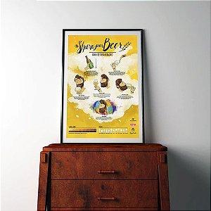 Kit Pôsters Lupulento:  Guia de Degustação + Mascote
