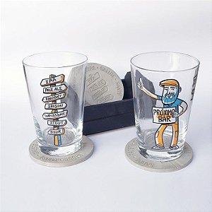 Kit Viajante Cervejeiro : 2 Calderetas + 4 Beton Coasters