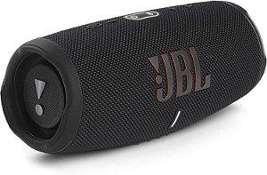 Caixa de Som Portátil Bluetooth JBL Charge 5 Preta