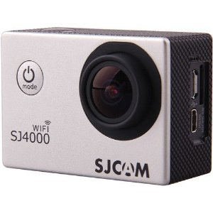 Filmadora SJCAM ActionCam SJ4000 Silver Wi-Fi 12MP Vídeo Full HD