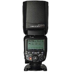 Flash Yongnuo Speedlite YN600EX-RT II TTL para câmeras Canon