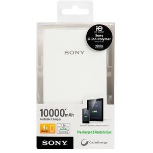 Carregador Portátil Sony CP-V10B Branco 10000mAh USB
