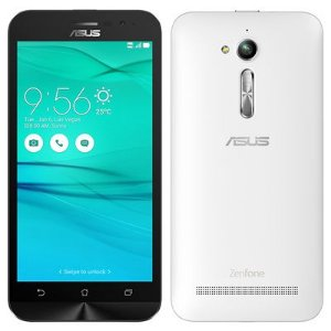 "Smartphone ASUS Zenfone Go ZB500KG Branco Dual Chip Tela 5"" Android 5.1 8MP 8GB"