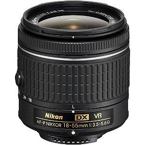 Lente Nikon AF-P DX 18-55mm f/3.5-5.6G VR