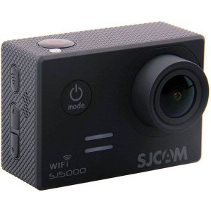 Filmadora SJCAM ActionCam SJ5000 Black Wi-Fi 14MP Vídeo Full HD