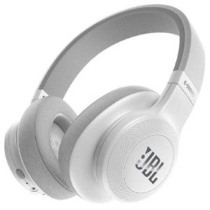 Headphone Sem Fio Bluetooth com Microfone JBL E55BT Branco