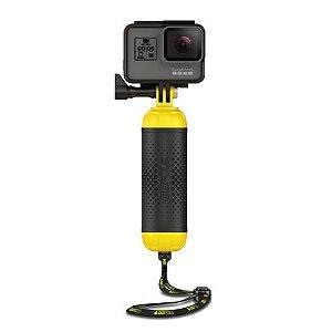Bastão Flutuante Bobber Gopole GPB-11 Preto para Câmeras GoPro