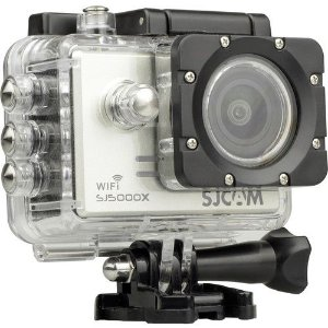 Filmadora SJCAM ActionCam SJ5000X Elite Silver Wi-Fi 12MP Vídeo 4K