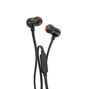 Fone de Ouvido Intra-auricular com Microfone JBL T210 Preto